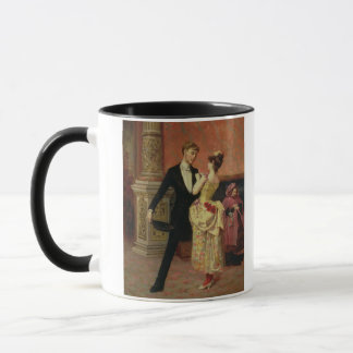 The Foyer of the Lyceum Theatre (oil on canvas) Mug