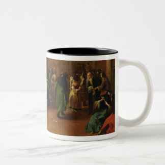 The Foyer (sketch) Two-Tone Coffee Mug