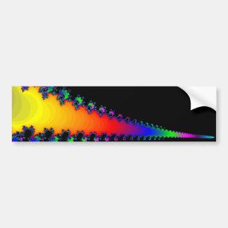 The Fractal's Edge: Bumper Sticker