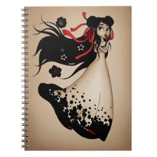 The Fragile Flower Notebook