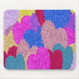 The Fragmented Hearts Mousepads