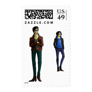 THE FRAIL POSTAGE STAMP