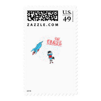 THE FRAIL POSTAGE STAMPS