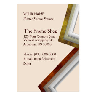 The Frame Shop Business Cards