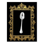The Framed Spoon Postcard