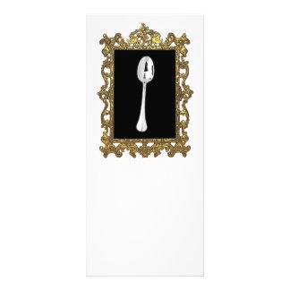 The Framed Spoon Rack Card Template