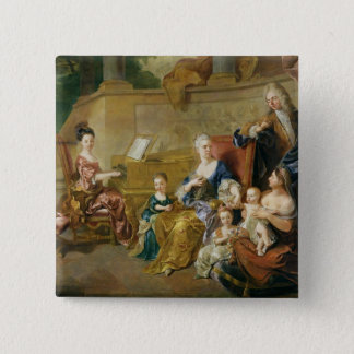 The Franqueville Family, 1711 Button