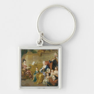 The Franqueville Family, 1711 Keychain