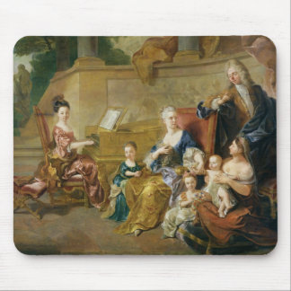 The Franqueville Family, 1711 Mouse Pad