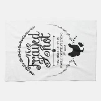 The Frayed Knot - Crest Kitchen Towel