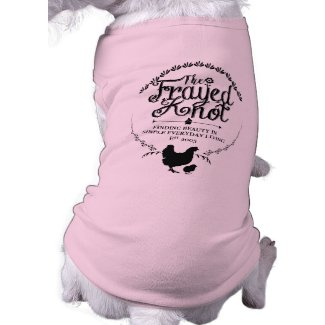 The Frayed Knot - Crest Pet Shirt