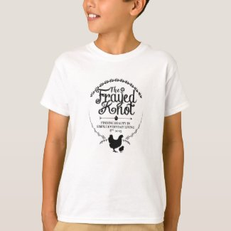 The Frayed Knot - Crest Kids T-Shirt
