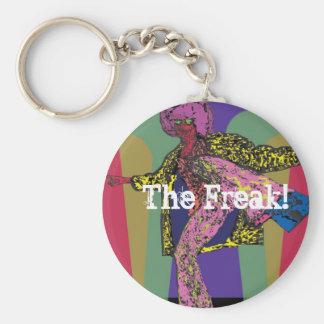 The Freak Basic Round Button Keychain