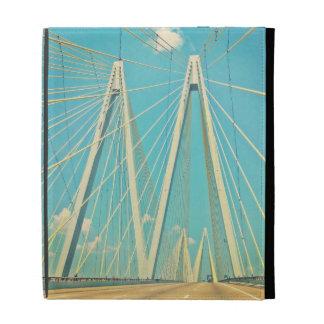 The Fred Hartman Bridge iPad Folio Case