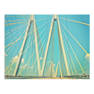 The Fred Hartman Bridge Postcard