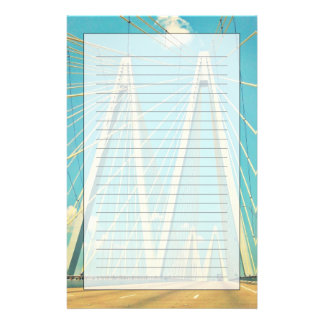 The Fred Hartman Bridge Stationery