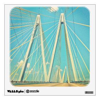 The Fred Hartman Bridge Wall Sticker