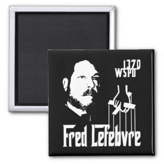 The Fredfather 2 Inch Square Magnet