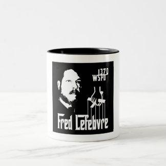 The Fredfather Two-Tone Coffee Mug