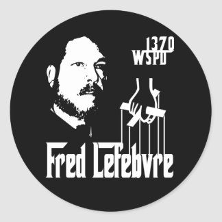 The Fredfather Classic Round Sticker