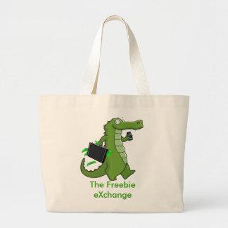 The Freebie eXchange Jumbo Tote Jumbo Tote Bag