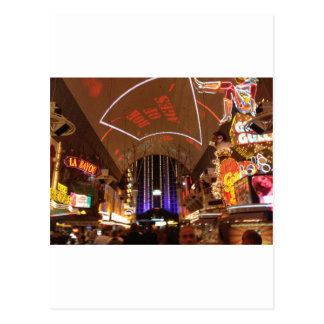 The Fremont Street Experience - Las Vegas Postcard