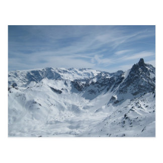 The French Alps Postcard