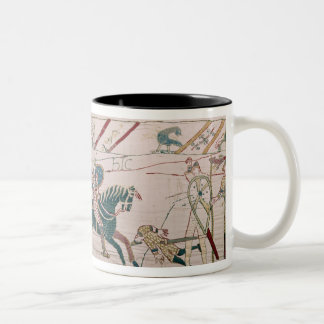The French are Fighting and Killing Harold's Two-Tone Coffee Mug