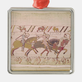 The French are fighting and they kill Christmas Ornament