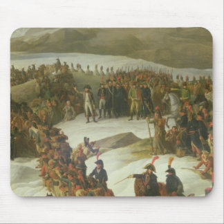 The French Army Crossing the St. Bernard Pass Mouse Pad