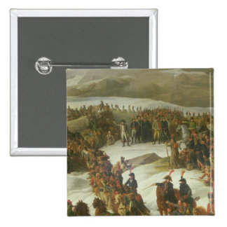 The French Army Crossing the St. Bernard Pass Pinback Button
