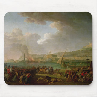The French Army Entering Naples Mouse Pad