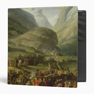 The French Army Travelling St. Bernard Pass 3 Ring Binder