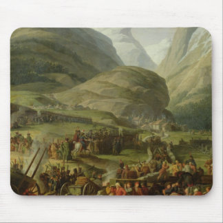 The French Army Travelling St. Bernard Pass Mouse Pad
