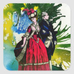 The French Bourbons by Michael Moffa Square Sticker