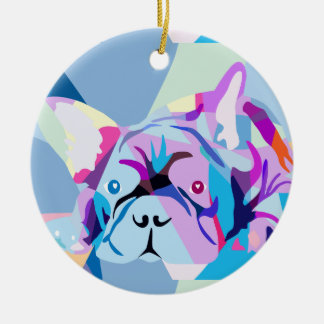 The french Bulldog Ornaments
