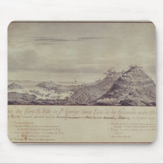 The French Capture Grenada, 1779 Mouse Pad