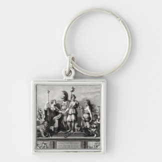 The French Constitution Keychain
