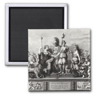 The French Constitution Fridge Magnet