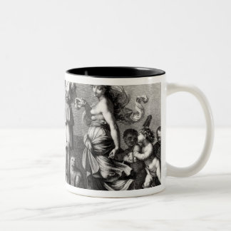 The French Constitution Two-Tone Coffee Mug