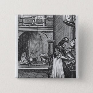 'The French Cook' by La Varenne Button