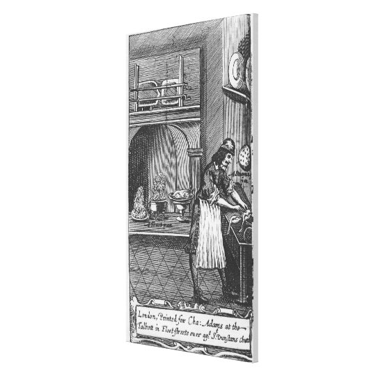 'The French Cook' by La Varenne Canvas Print