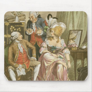 The French Dressing Room, engraved by P.W. Tomkins Mouse Pad