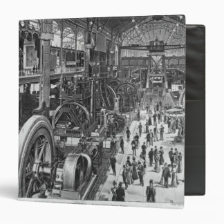 The French Electrical Machinery Gallery 3 Ring Binder