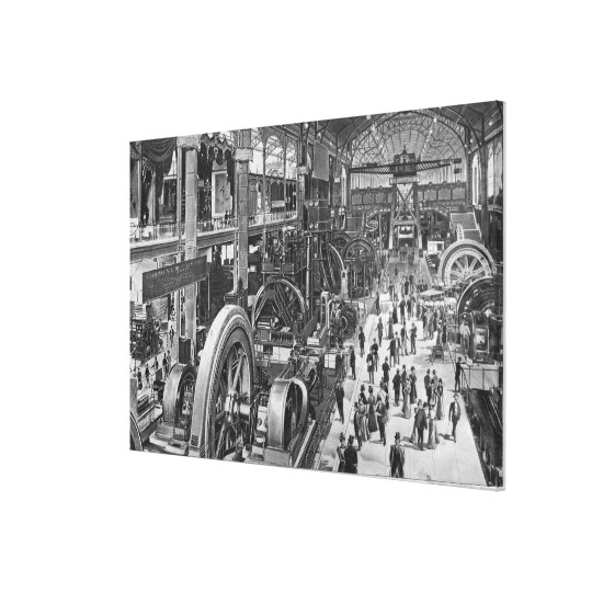 The French Electrical Machinery Gallery Canvas Print