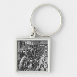 The French Electrical Machinery Gallery Keychain