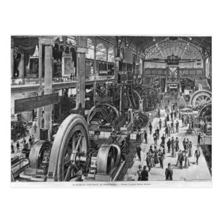 The French Electrical Machinery Gallery Postcard