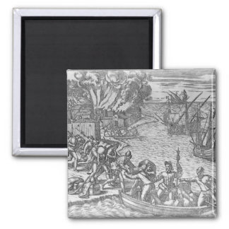 The French Fleet Plundering Magnet
