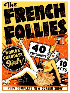 Vaudeville posters photo prints zazzle vintage pinup poster maxwellsz