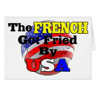 The French Got Fried By USA Card